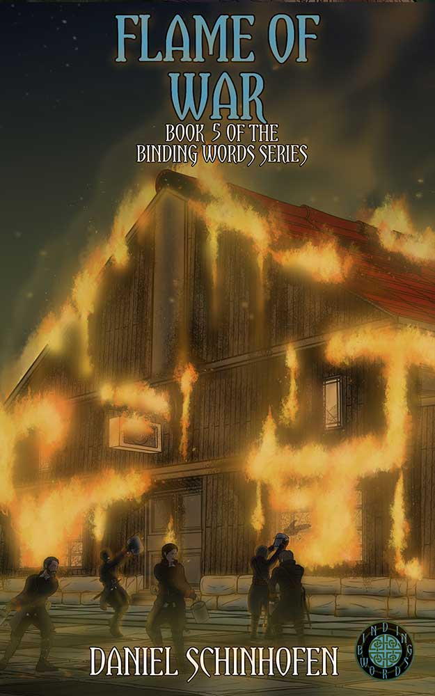 Flame of War Book 5 of the Binding Words Series